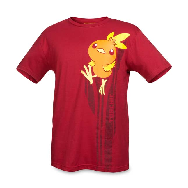 Image for Torchic Hoenn First Partner Pokémon Unisex Relaxed Fit Crewneck T-Shirt from Pokemon Center