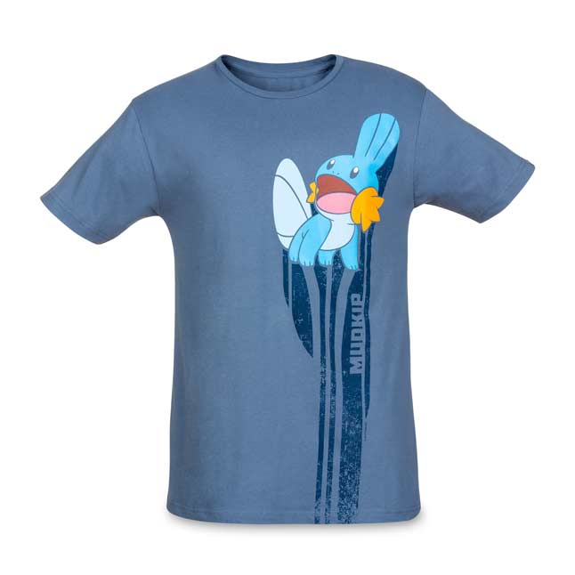 Image for Mudkip Hoenn First Partner Pokémon Unisex Relaxed Fit Crewneck T-Shirt from Pokemon Center