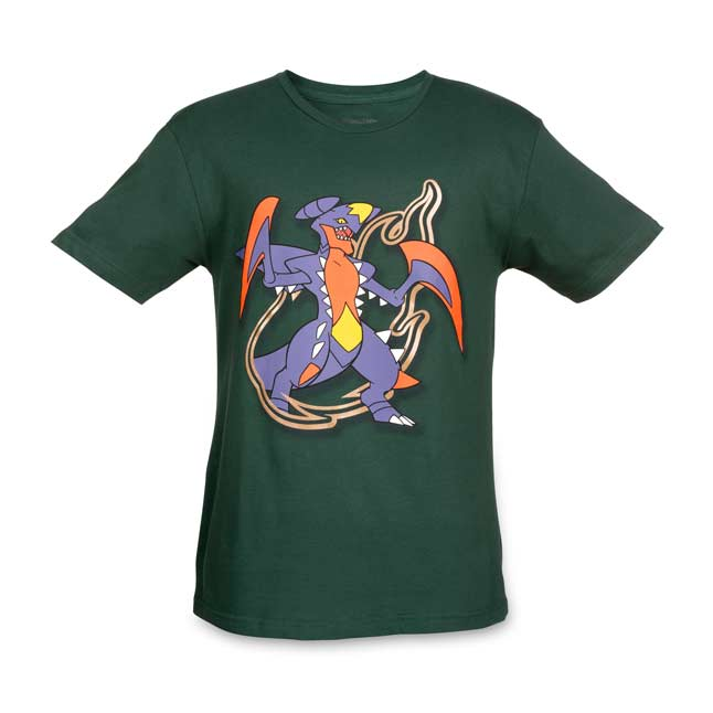Image for Mega Garchomp Mega Evolutions Relaxed Fit Crewneck T-Shirt from Pokemon Center