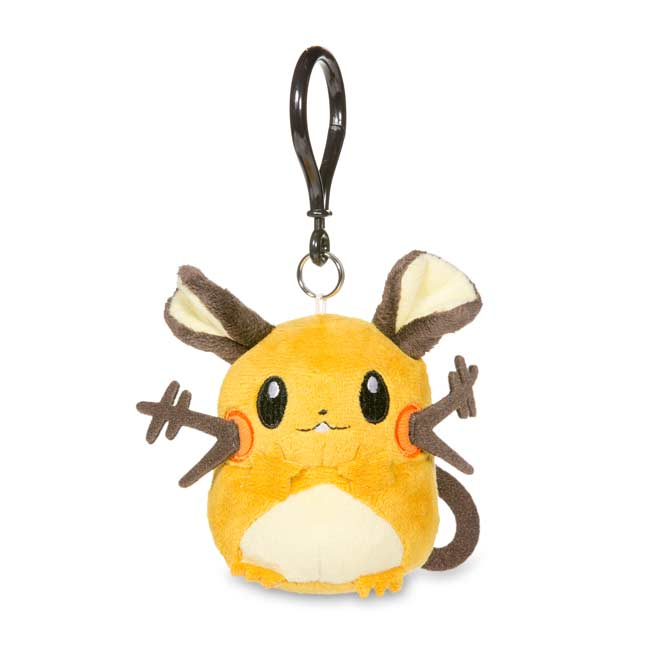 Image for Dedenne Pokémon Petit Plush Keychain from Pokemon Center