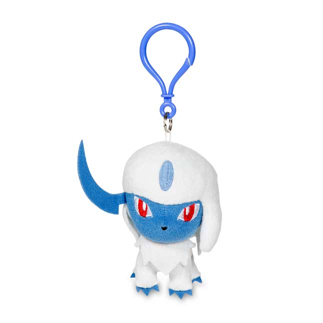 Image for Absol Pokémon Petit Plush Keychain from Pokemon Center