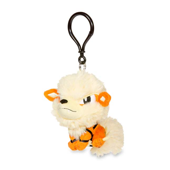 Image for Arcanine Pokémon Petit Plush Keychain from Pokemon Center
