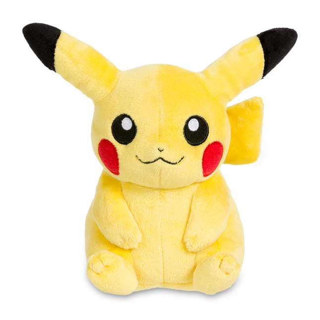 "Image for Pikachu Poké Plush (Standard Size) - 5"" from Pokemon Center"