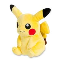 Image for Pikachu Poké Plush (Standard Size) - 5 In. from Pokemon Center
