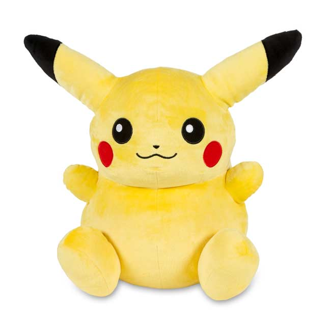 "Image for Pikachu Poké Doll Plush (Large Size) - 14 1/2"" from Pokemon Center"