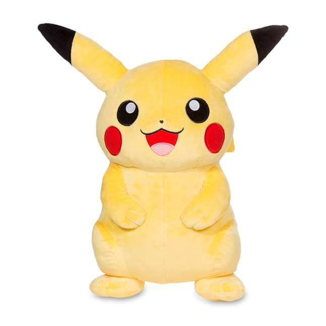 "Image for Pikachu Poké Plush (Trainer Size) - 16 1/4"" from Pokemon Center"