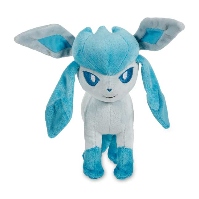 "Image for Glaceon Poké Plush (Standard Size) - 7 1/4"" from Pokemon Center"