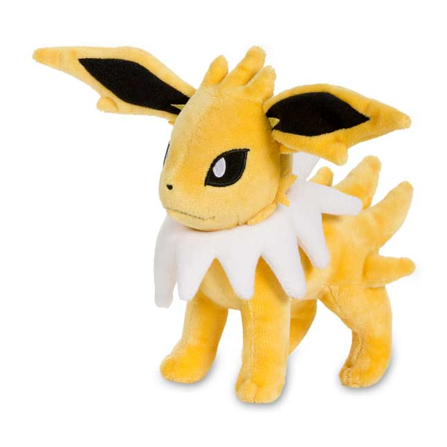 "Image for Jolteon Poké Plush (Standard Size) - 7 1/4"" from Pokemon Center"