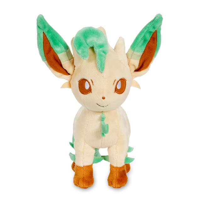 "Image for Leafeon Poké Plush (Standard Size) - 8 1/2"" from Pokemon Center"