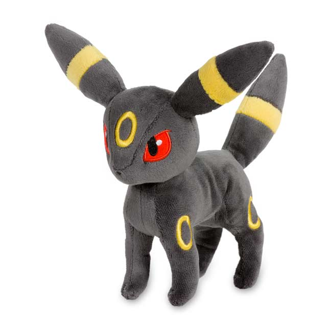 "Image for Umbreon Poké Plush (Standard Size) - 8 1/2"" from Pokemon Center"