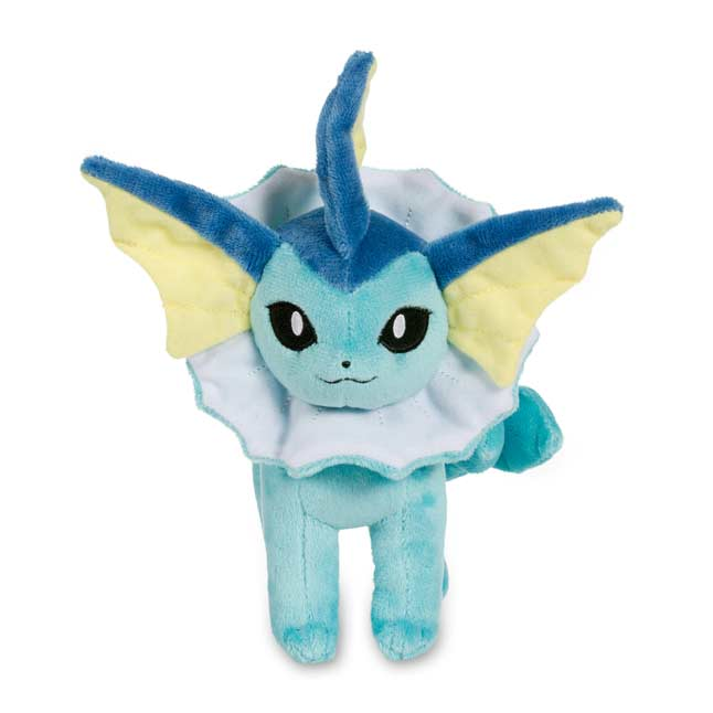 "Image for Vaporeon Poké Plush (Standard Size) - 8 1/2"" from Pokemon Center"