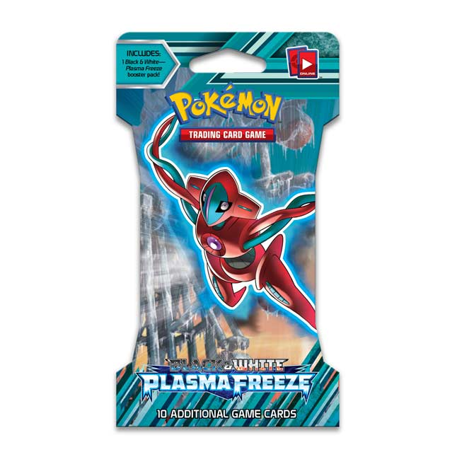 Image for Pokémon TCG: Black & White-Plasma Freeze Sleeved Booster Pack (10 Cards) from Pokemon Center