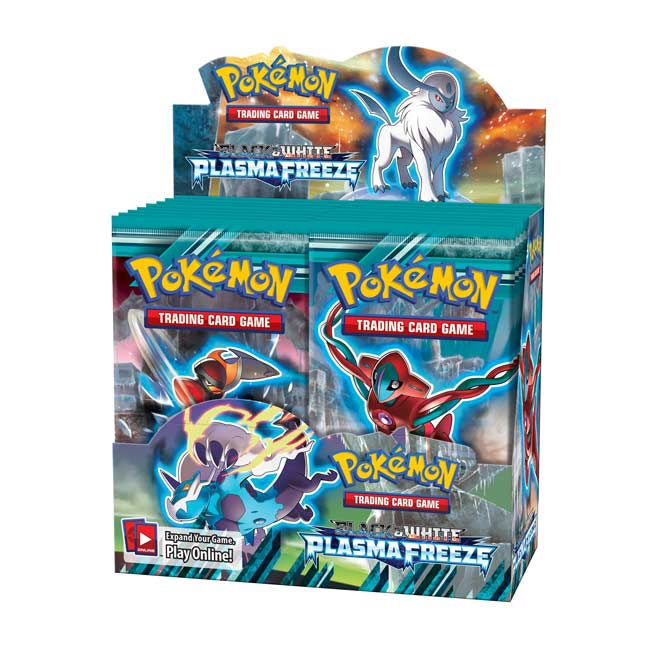 Image for Pokémon Trading Card Game: Black & White Plasma Freeze Booster Display (36 Packs) from Pokemon Center