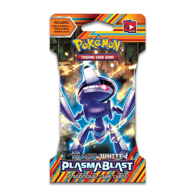 Image for Pokémon TCG: Black & White-Plasma Blast Sleeved Booster Pack (10 Cards) from Pokemon Center
