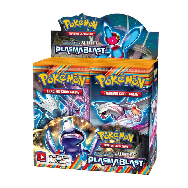 Image for Pokémon TCG: Black & White-Plasma Blast Booster Display (36 Packs) from Pokemon Center