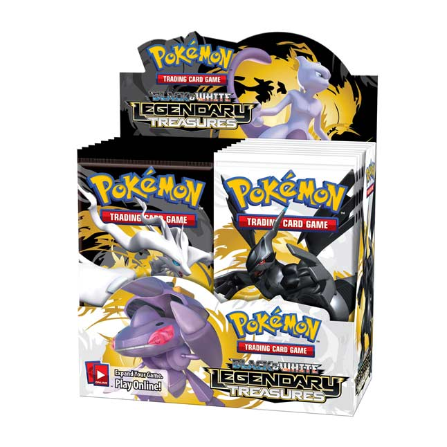 Image for Pokémon TCG: Black & White-Legendary Treasures Booster Display (36 Packs) from Pokemon Center