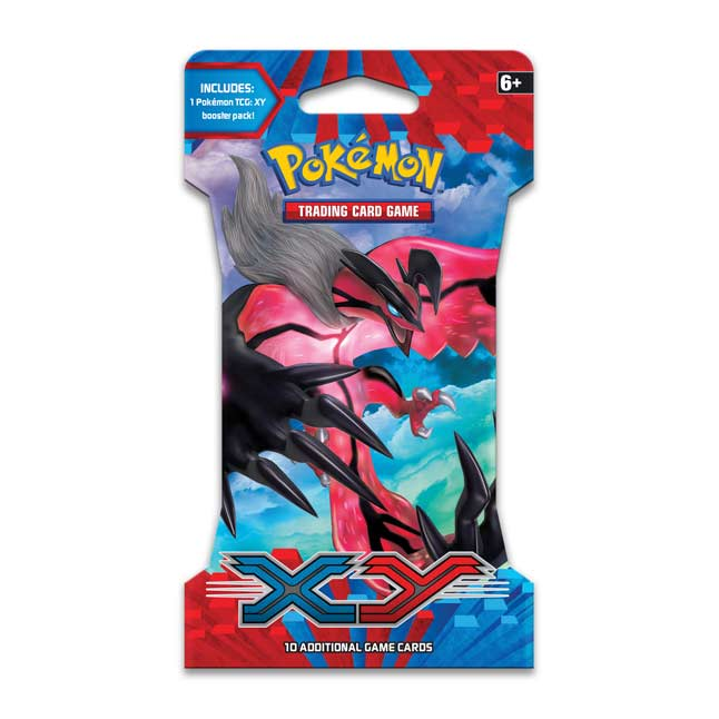 Image for Pokémon TCG: XY Sleeved Booster Pack (10 Cards) from Pokemon Center