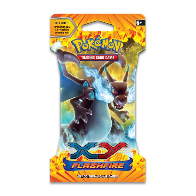 Image for Pokémon TCG: XY-Flashfire Sleeved Booster Pack (10 Cards) from Pokemon Center