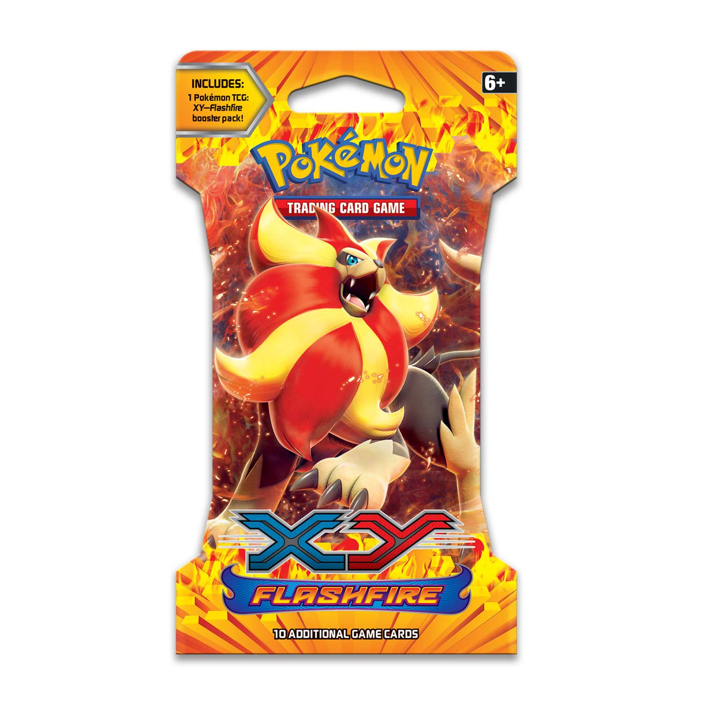 Pokémon TCG: XY-Flashfire Sleeved Booster Pack (10 Cards)