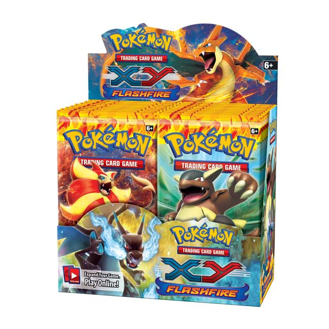 Image for Pokémon TCG: XY-Flashfire Booster Display (36 Packs) from Pokemon Center