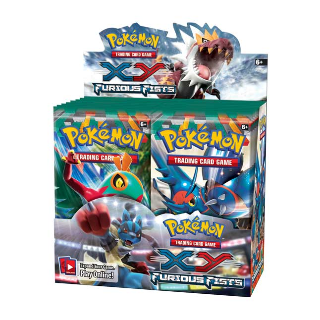 Image for Pokémon TCG: XY—Furious Fists: Booster Display (36 Packs) from Pokemon Center
