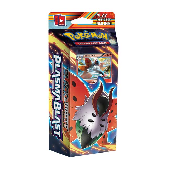Image for Pokémon TCG: Black & White-Plasma Blast Solar Strike Theme Deck from Pokemon Center