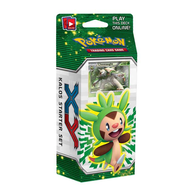 Image for Pokémon TCG: XY Kalos Starter Set (Chespin Deck) from Pokemon Center