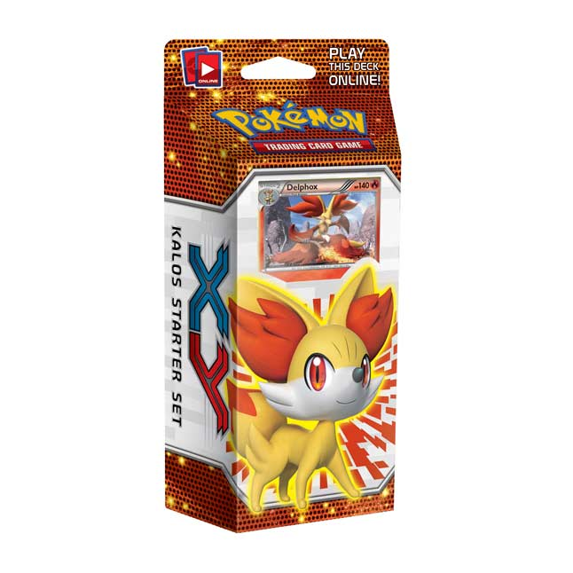 Image for Pokémon TCG: XY Kalos Starter Set (Fennekin Deck) from Pokemon Center