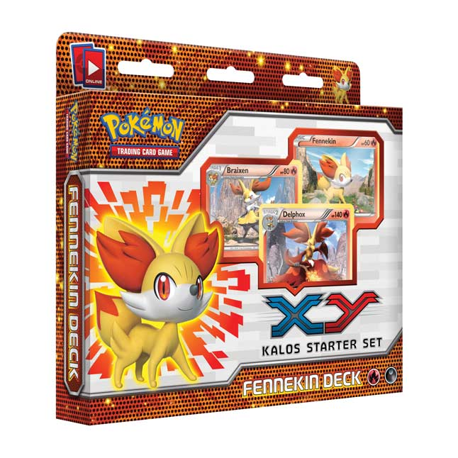 Image for Pokémon TCG: Fennekin Preview Deck (Kalos Deluxe Set) from Pokemon Center
