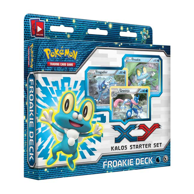 Image for Pokémon TCG: Froakie Preview Deck (Kalos Deluxe Set) from Pokemon Center
