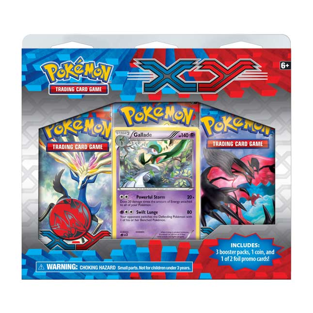 Image for Pokémon TCG: 3 Booster Packs with Gallade Promo Card from Pokemon Center