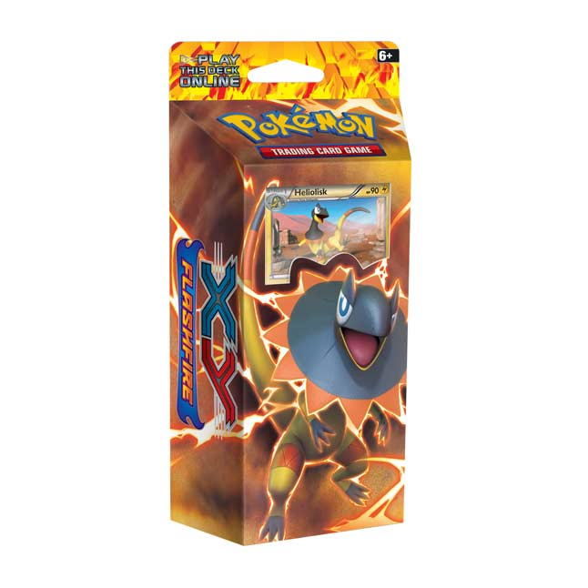 Image for Pokémon TCG: XY—Flashfire Brilliant Thunder Theme Deck from Pokemon Center