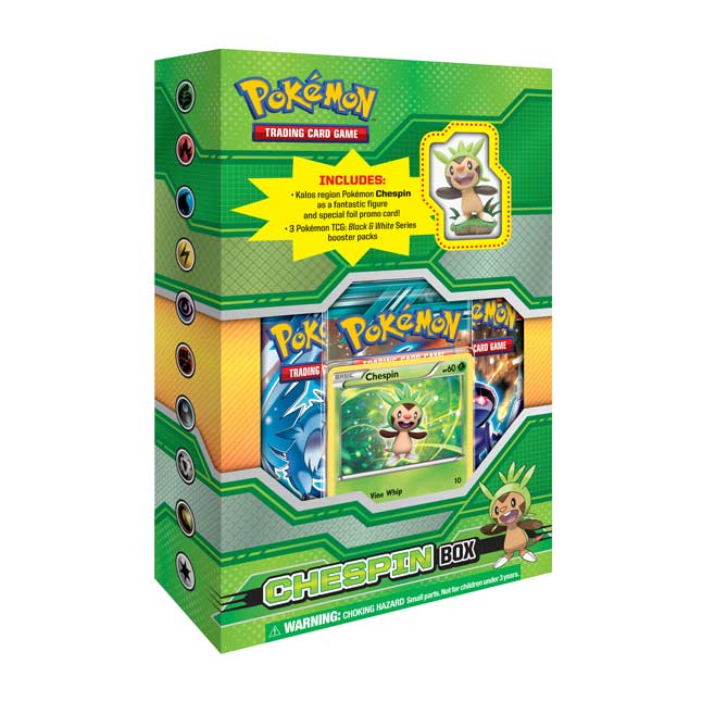 Image for Pokémon TCG: Figure Box (Chespin) from Pokemon Center