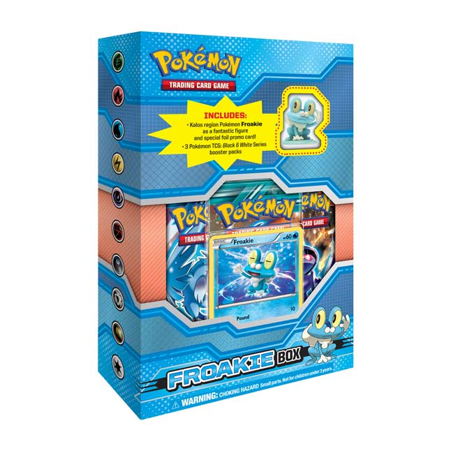 Image for Pokémon TCG: Figure Box (Froakie) from Pokemon Center