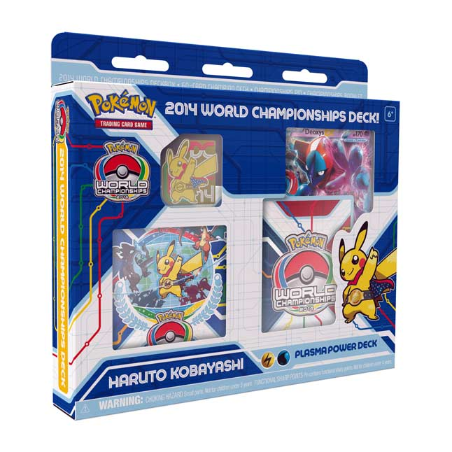 Image for Pokémon TCG: 2014 World Championships Deck-Haruto Kobayashi from Pokemon Center