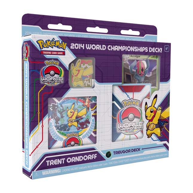 Image for Pokémon TCG: 2014 World Championships Deck-Trent Orndorff from Pokemon Center