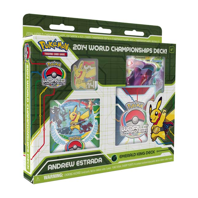 Image for Pokémon TCG: 2014 World Championships Deck-Andrew Estrada from Pokemon Center