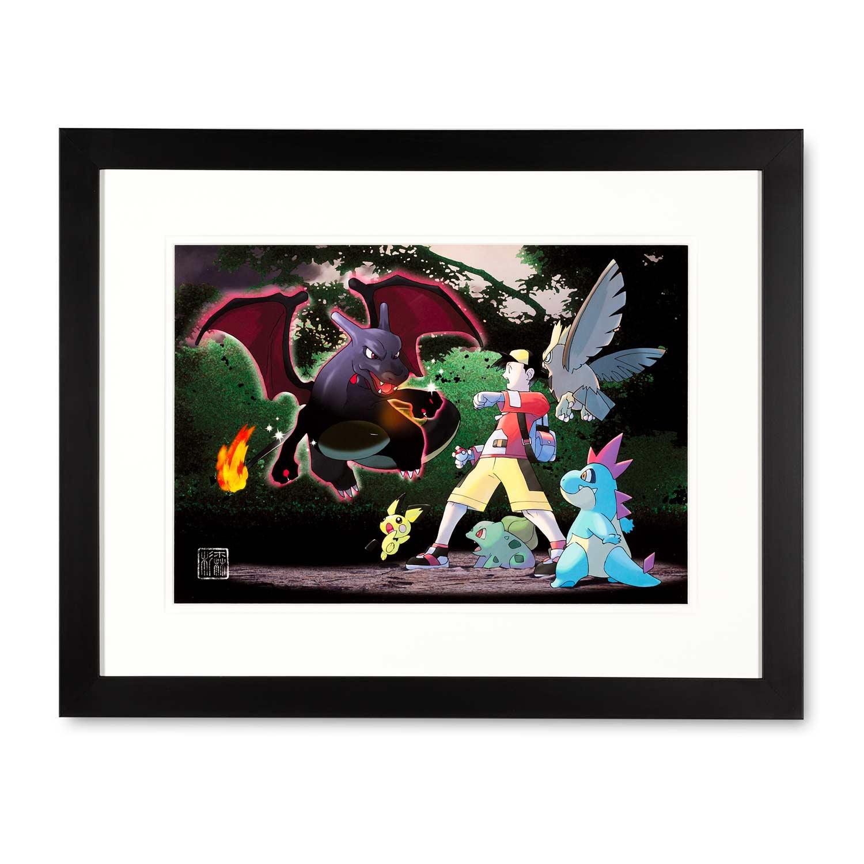Charizard Art Print Limited Edition Ken Sugimori