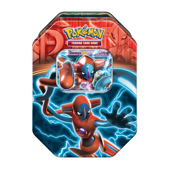 Image for Pokémon TCG: Team Plasma Tin (Deoxys) from Pokemon Center