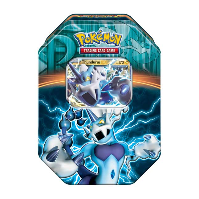 Image for Pokémon TCG: Team Plasma Tin (Thundurus) from Pokemon Center