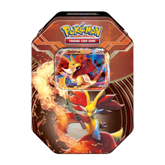Image for Pokémon TCG: Kalos Power Tin (Delphox-EX) from Pokemon Center