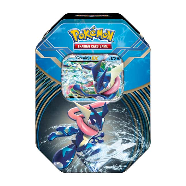 Image for Pokémon TCG: Kalos Power Tin (Greninja-EX) from Pokemon Center