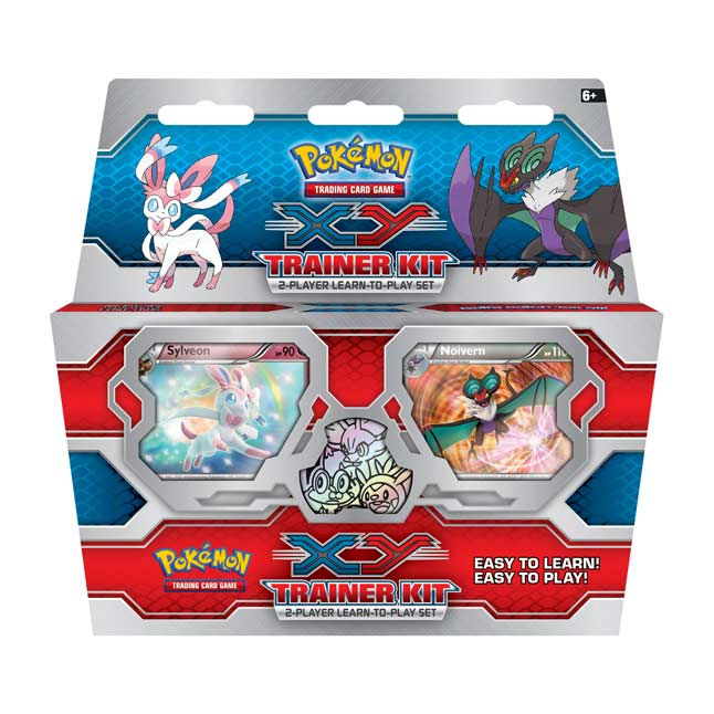 Image for Pokémon TCG: XY—Trainer Kit (2-Player Learn-to-Play Set) from Pokemon Center