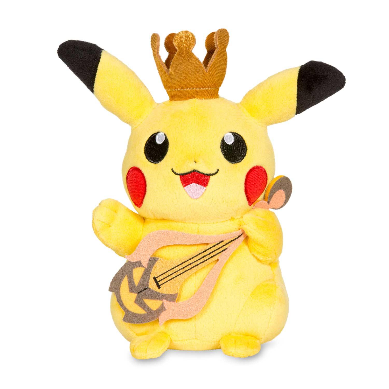 image for pikachu halloween pok plush standard size 6 in from pokemon