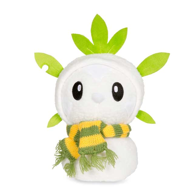 "Image for Chespin Holiday Snowman Poké Plush (Standard Size) - 7 1/2"" from Pokemon Center"