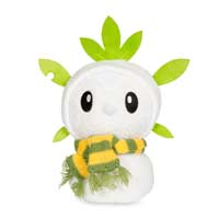 Image for Chespin Holiday Snowman Poké Plush (Standard Size) - 7 1/2 In. from Pokemon Center