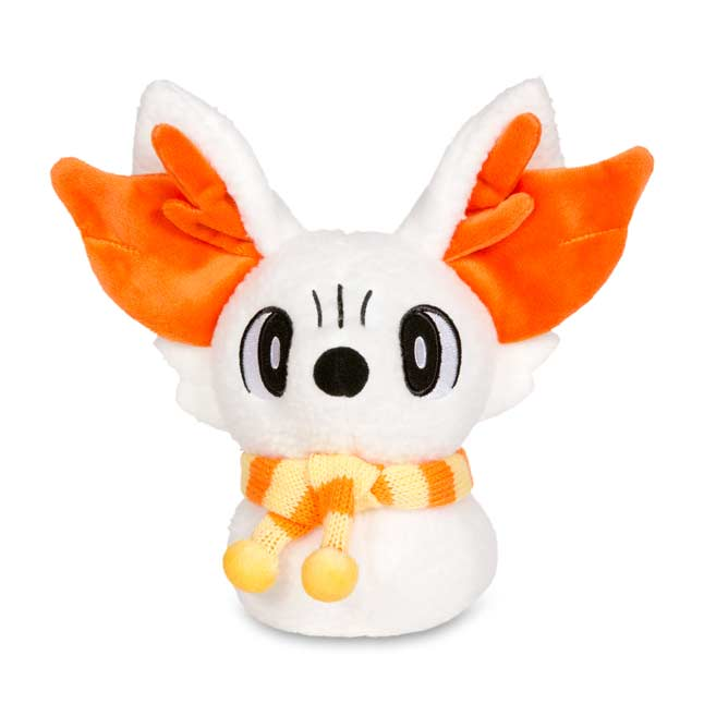 Image for Fennekin Holiday Snowman Poké Plush (Standard Size) - 8 3/4 In. from Pokemon Center