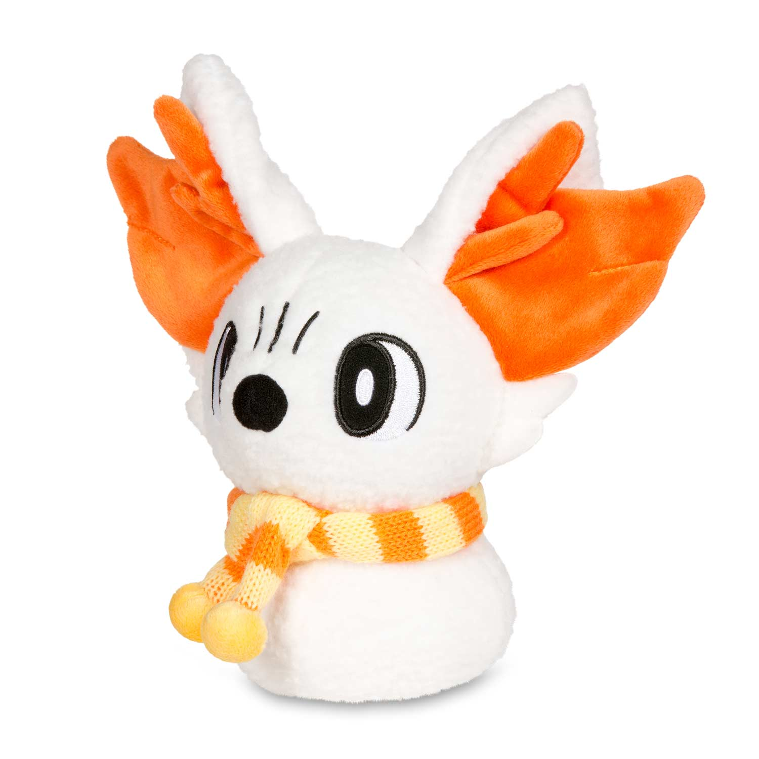 fennekin plush holiday snow pokmon center original