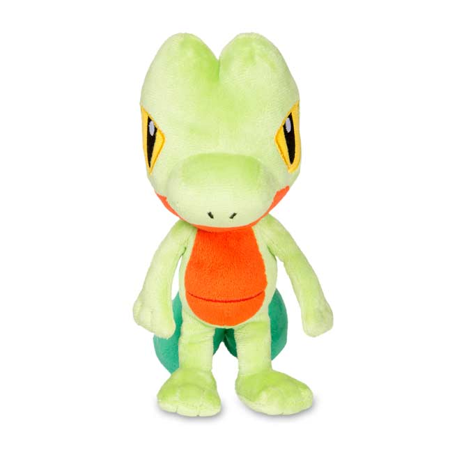 "Image for Treecko Poké Plush (Standard Size) - 7 3/4"" from Pokemon Center"