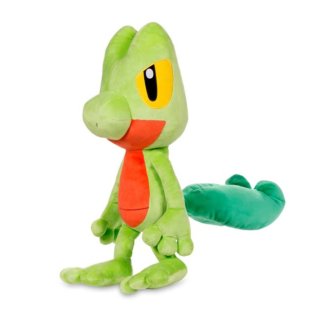 "Image for Treecko Poké Plush (Trainer Size) - 19 3/4"" from Pokemon Center"